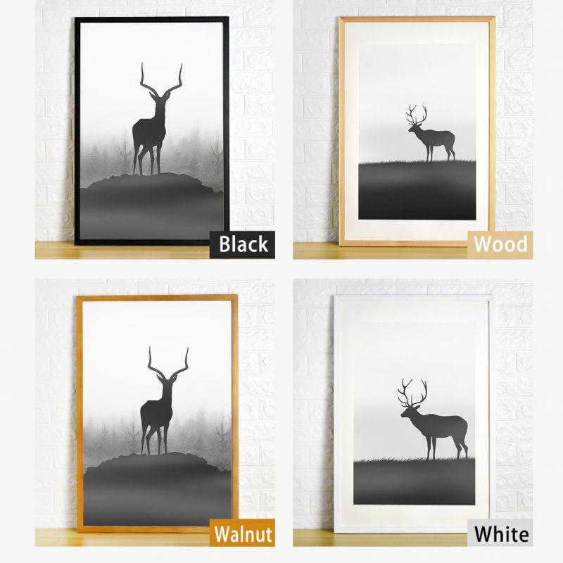 Nordic Simple Wooden Frame A4 A3 Black White Color Picture Photo Frames For Wall Picture Decor Buy From 14 On Joom E Commerce Platform