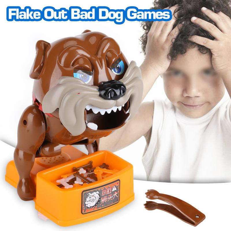 Bad Dog Chew A Bone Funny Toy Board Game Parents Kids Interactive Toy Children