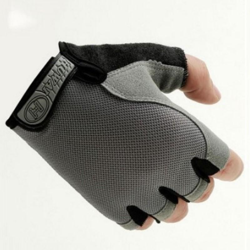 Details about  /1 Pair Cycling Half Finger Unisex Practical Sports Fitness