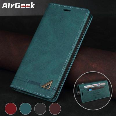 Prevent Credit Card Fraud Wallet Leather Case for iPhone 12 11 Pro Max Samsung S21 S21FE S20 S10 A12 A32 A52 Xiaomi POCO F3 X3 Redmi Note 10 9 8