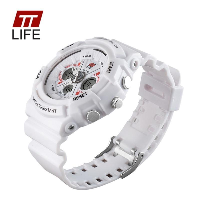 89efcf2e4c3e Marca TTLIFE TS01 deportes moda multifuncional impermeable reloj de ...