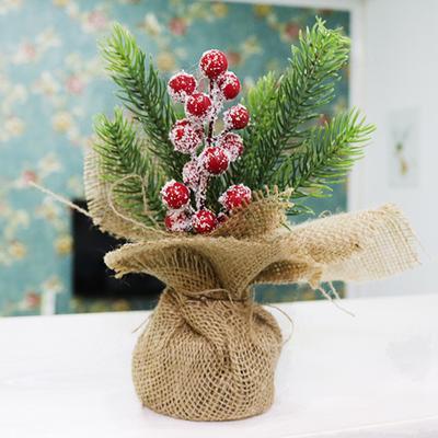 cf5d3878914 Suministros de fiesta y fiesta mini árbol decoración escritorio mesa  Festival fiesta adorno Navidad tienda de
