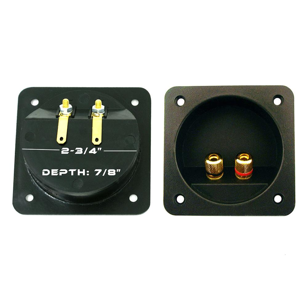 Interesting/®10Pcs Altavoz Amplificador Terminal Vinculante Post para 4mm Banana Plug Socket Conector Hembra