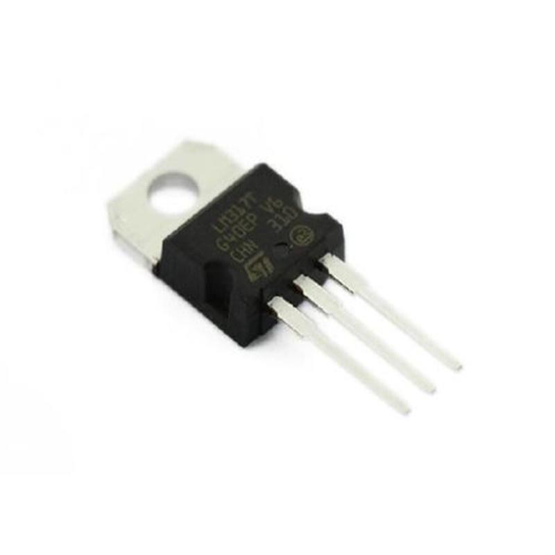 10PCS LM317T LM317 Voltage Regulator IC 1.2V to 37V 1.5
