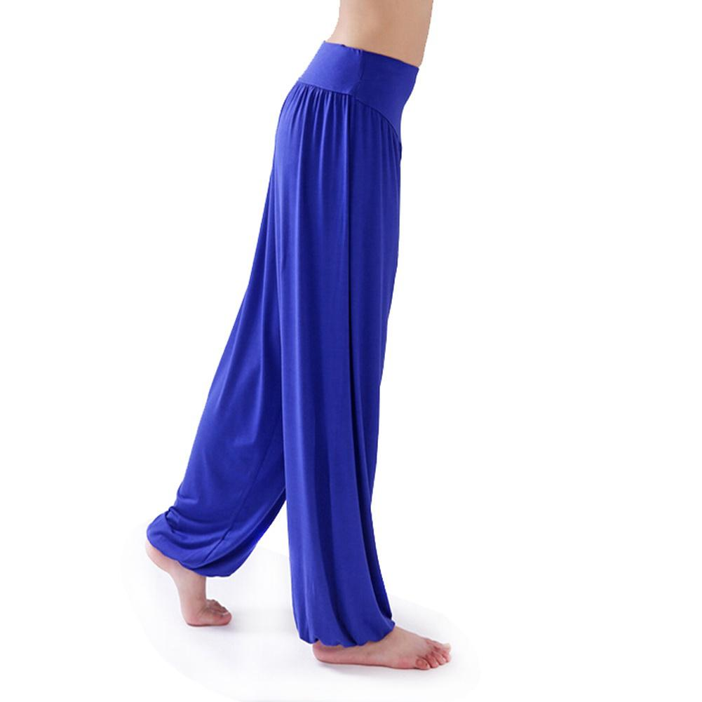 Pantalones de yoga mujer tallas grandes coloridos pantalones ... e700a0380617