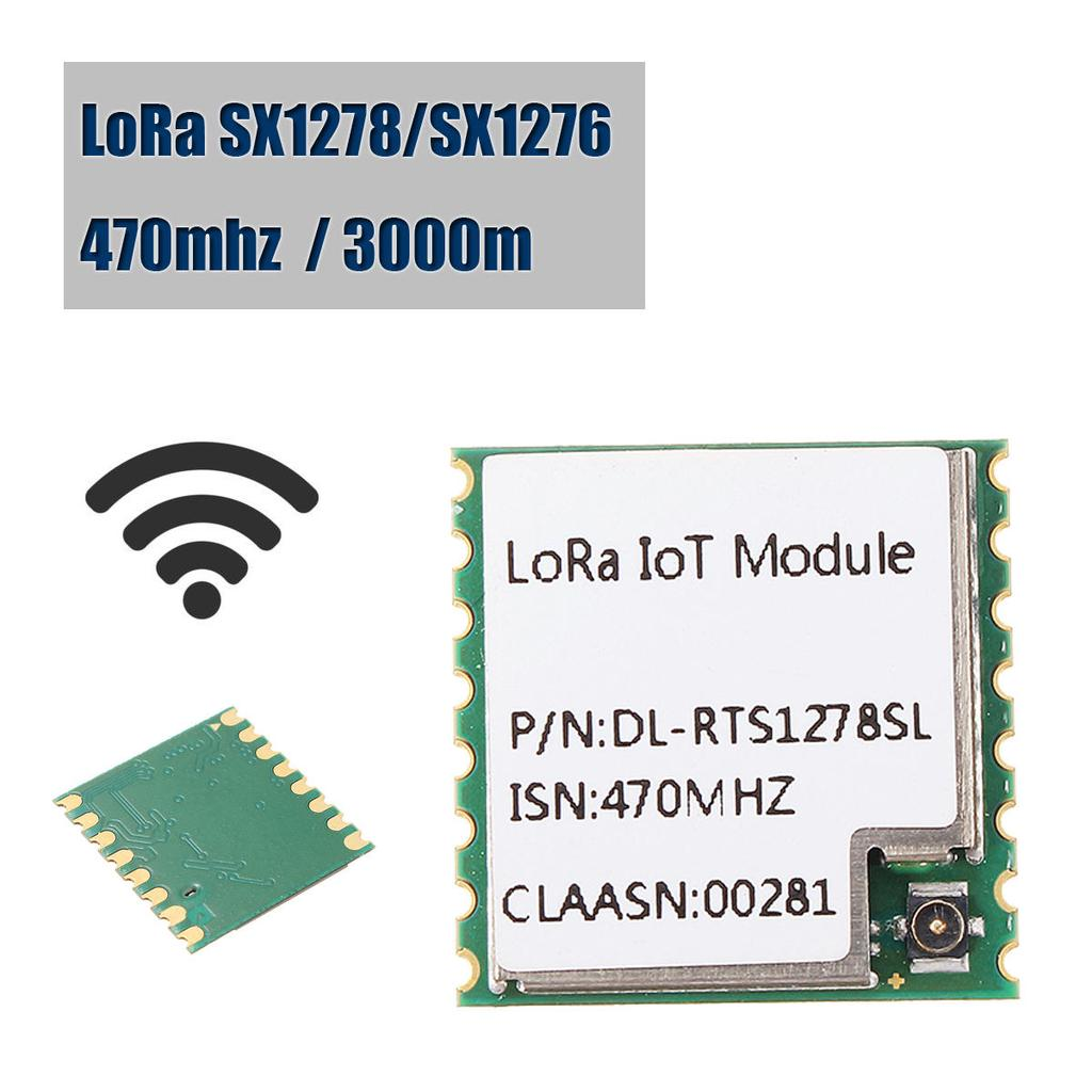 ISN 470MHZ LoRa SX1278/SX1276 3000m Wireless Transceiver Module Long Range  SPI
