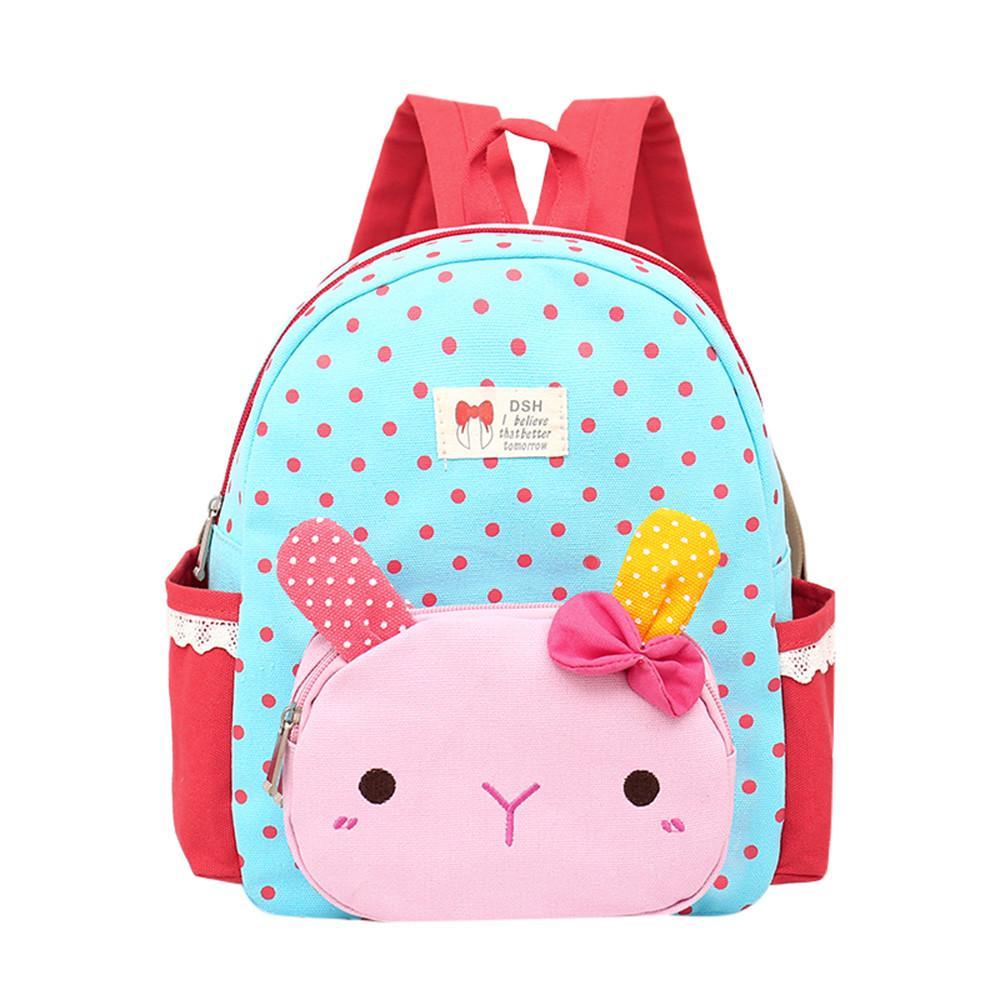 Ladybug Kids Animal Backpacks Cute Toddler Backpack Plush Zoo Series Cartoon Mini Casual Daypack for Baby Girls Boys