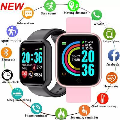 Y68s Smart Watch Fitness Tracker Blood Pressure Smartwatches Waterproof Heart Rate Monitor Bluetooth Smart Wristwatch