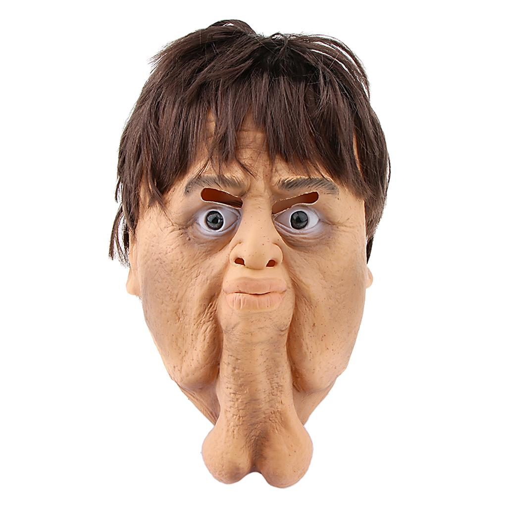 PartyCostume Latex Human Face Mask Vladimir Putin