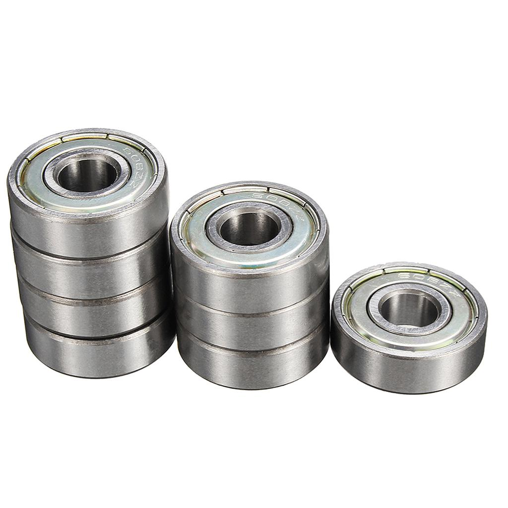 8pcs ABEC-11 608ZB Stamping Bearings Skateboard Longboard Road Skating Ball Bearing
