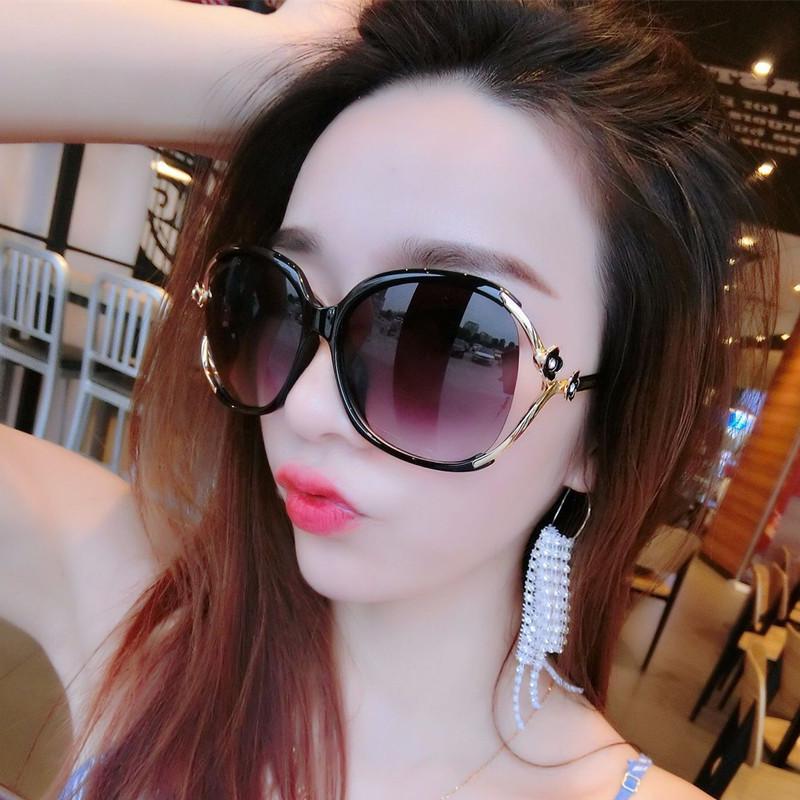 2019 New Sunglasses Women S Round Face Uv Resistant Sunglasses