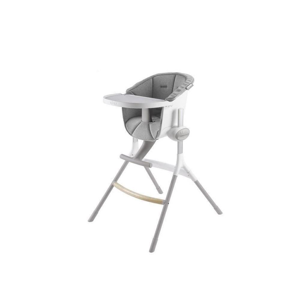 Assis High Chair Up and Down gray Beaba
