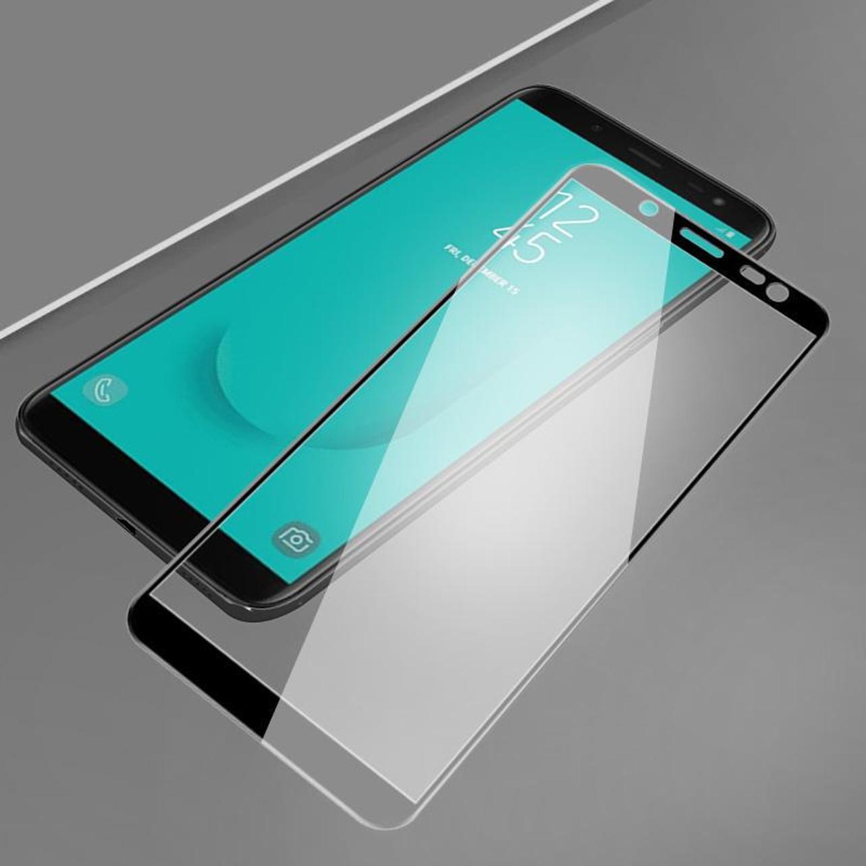 Стекло экрана протектор HD полное покрытие ударопрочный закаленное для Samsung Галактика A и серии J фото