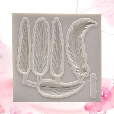 Feather Silicone Mould Cake Decorating Chocolate Mold Sugarcraft Tools