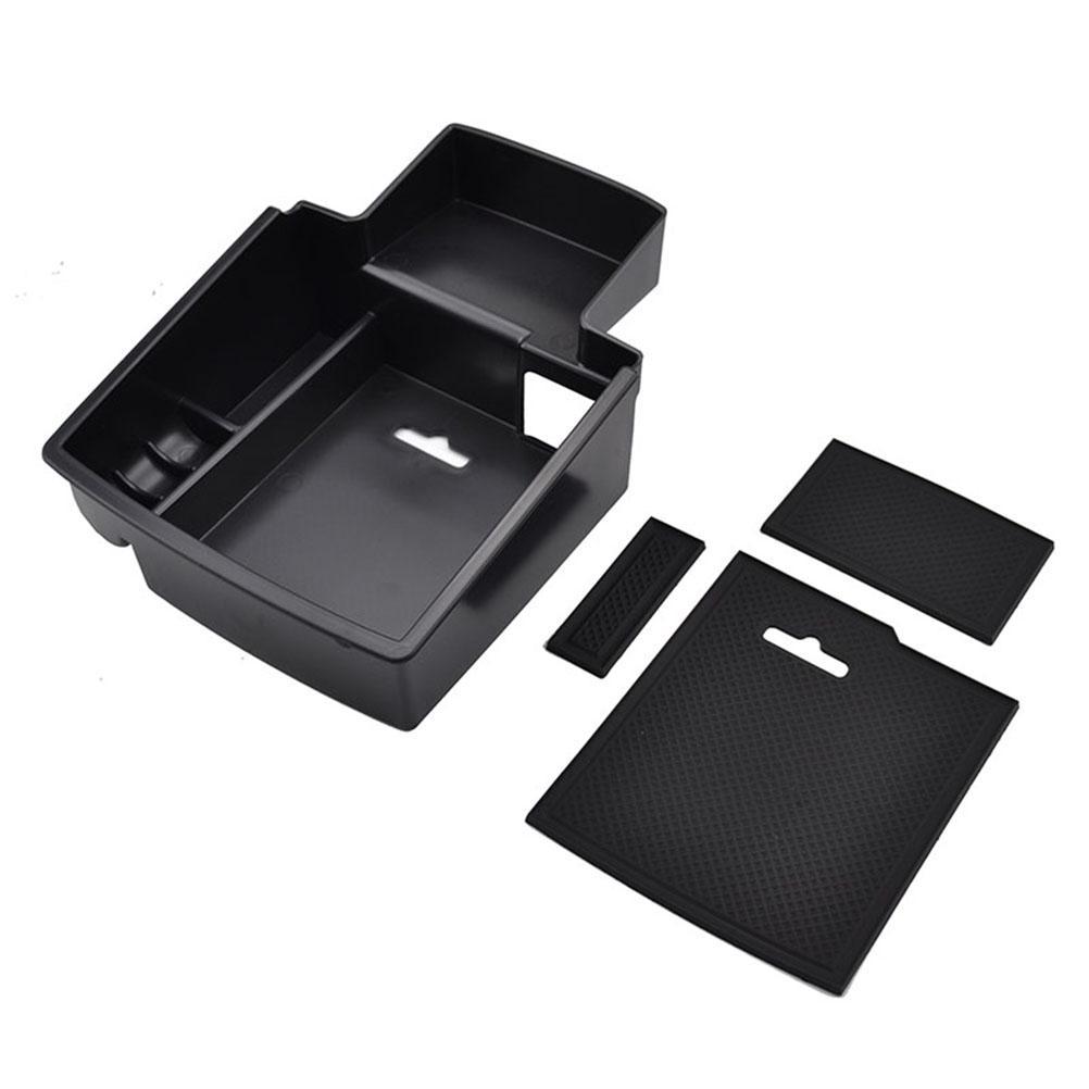 Car Center Console Tray Armrest Secondary Storage Center Console Organizer Car Glove Box for 2008-2016 Audi Q5 by Kaungka