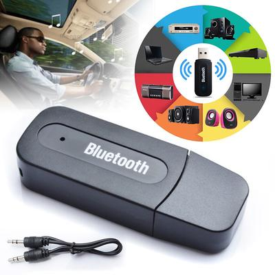 Wireless USB Mini Bluetooth Aux Audio Stereo Music Car Adapter Receiver 3.5mm US