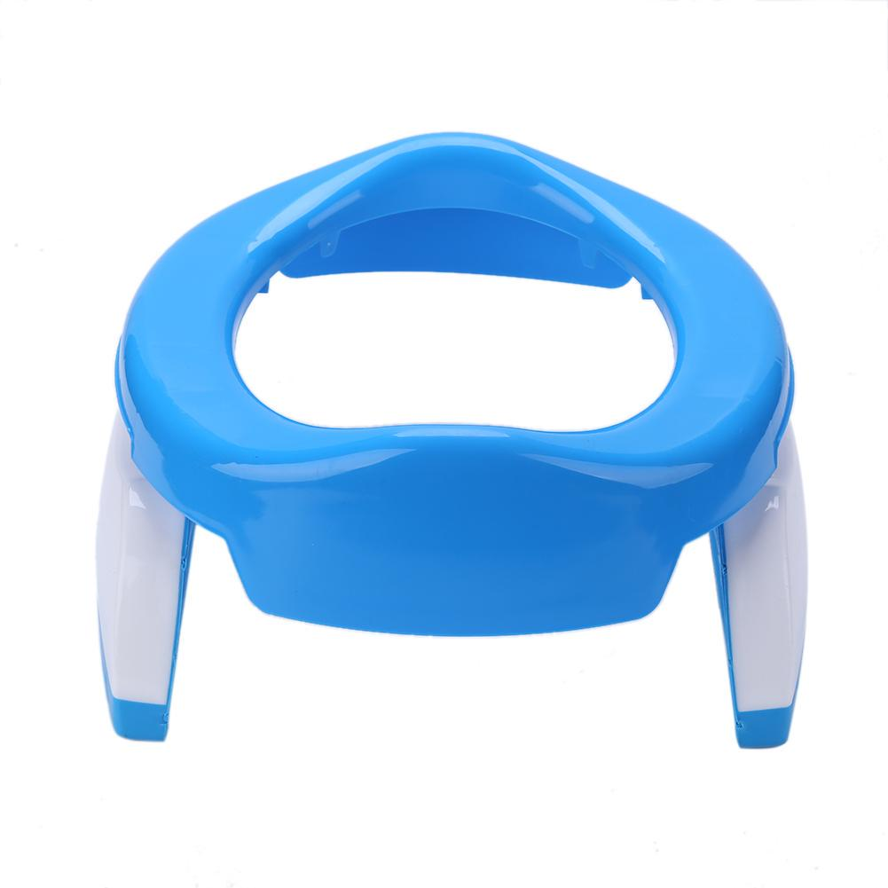 as described Blue MagiDeal Kids Baby Potty Training Seats with Handles for Child Toddler Toilet Chair