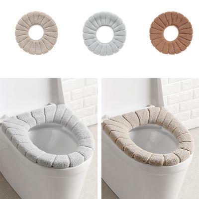 7aa05f3fd981 Baño inodoro asiento Closestool lavable suave caliente cubierta Mat Cojín  amortiguador