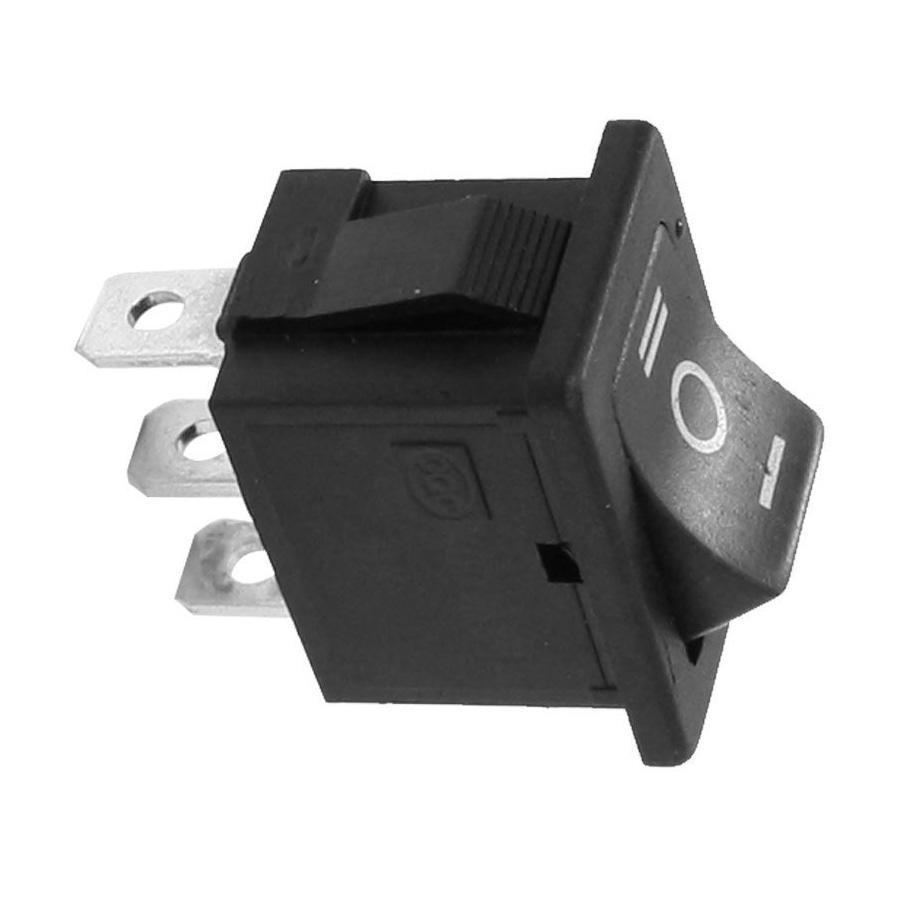 20 Pcs AC 250V//6A 125V//10A 2-Pin SPST Panel Mount Boat Rocker Switch LW