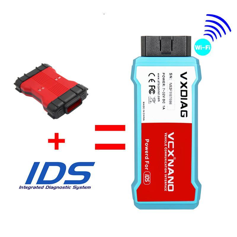 VXDIAG WIFI VCX NANO IDS для Ford Mazda Like VCMII 2 in 1 – купить по низким ценам в интернет-магазине Joom