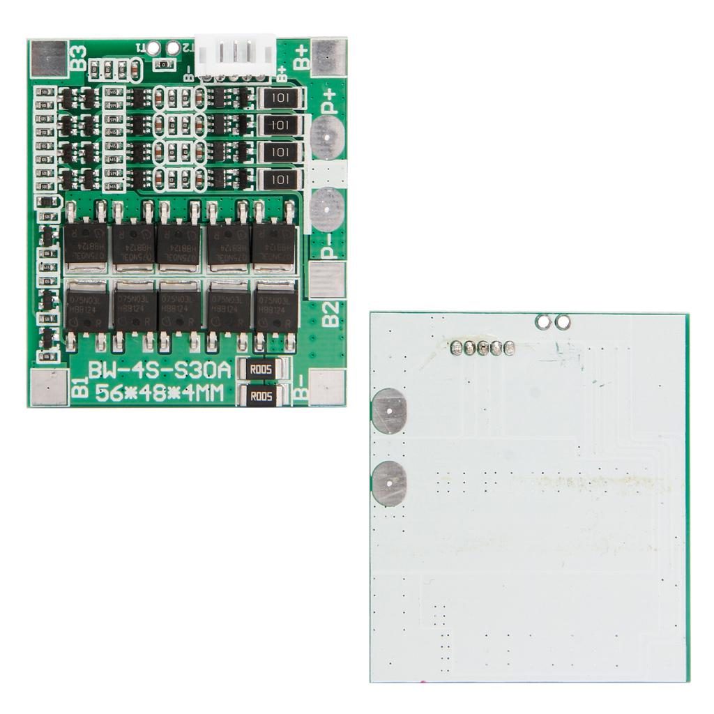 4s 128v 30a W Balance 32v Lifepo4 Life 18650 Battery Bms Protection Circuit Board Products