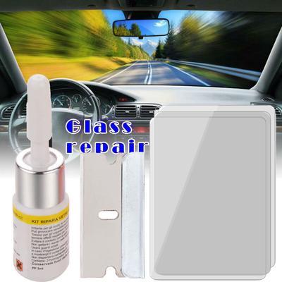 Momokoi Car Windshield Windscreen Glass Repair Resin Kit Auto Vehicle Window Fix Tool Repairing