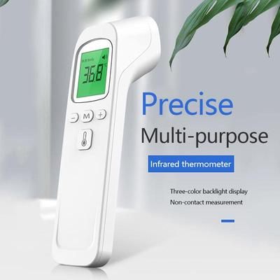 Non-Contact Accurate Thermometer Electronic Thermometer Infrared Thermometer LCD Digital Body Temperature Measurement Gun  Handheld  Thermometer