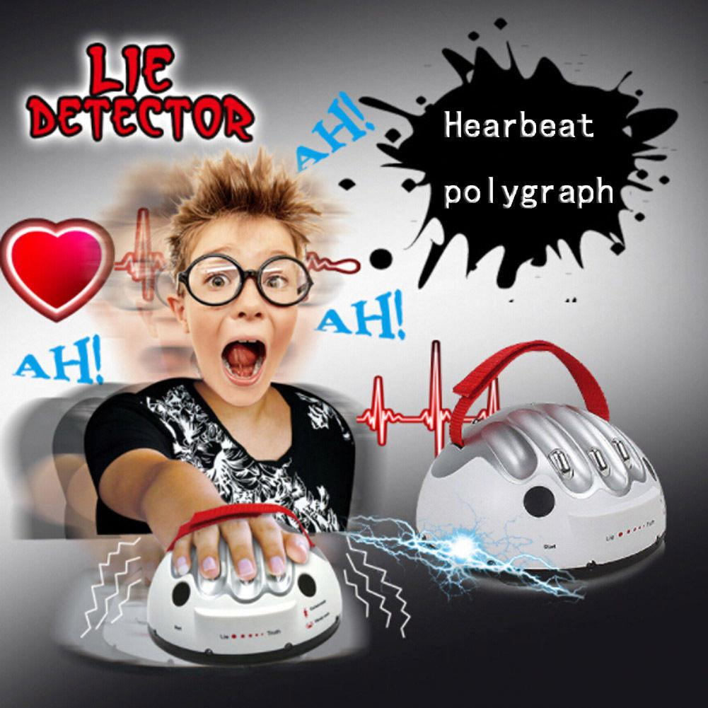 Lie Detector Game Toys Safety Electric Shock Polygraph Adult Lie Truth Test game