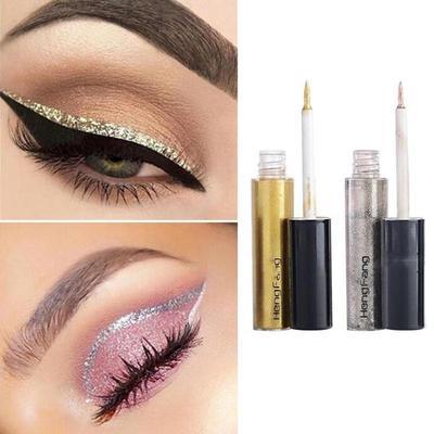 Liquid Eyeliner 5ml Women Makeup Tool Waterproof Metal Glitter Liquid Eyeliner Shining