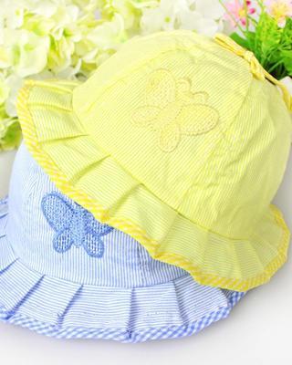 5 COLORS Baby Sun Hat Newborn Boy Girl Toddler Cotton Summer Cap For 3-24 Months