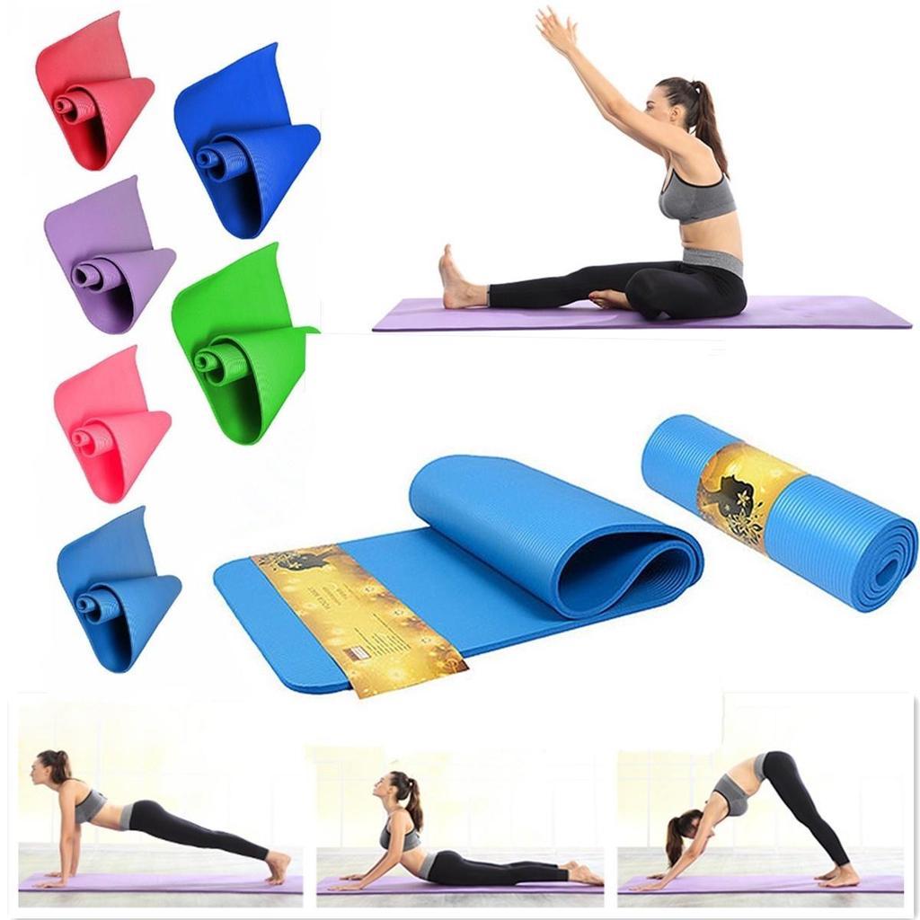 10mm thick portable gymnastics gym folding aerobics stretchi