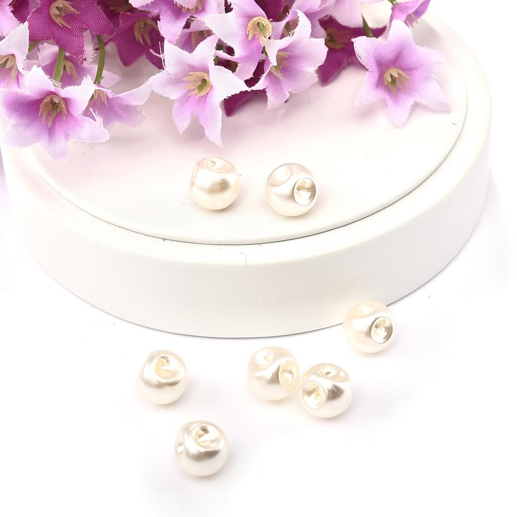500X Mixed Colour Round Glass Pearl Loose Beads 4mm Spacer Fit Jewelry Craft