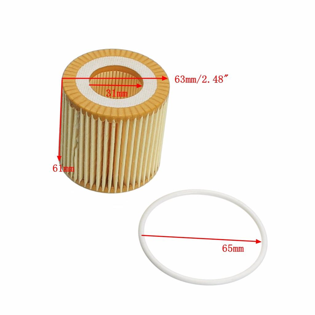 QSP Oil Filter for VW Fox 2005 to 2016
