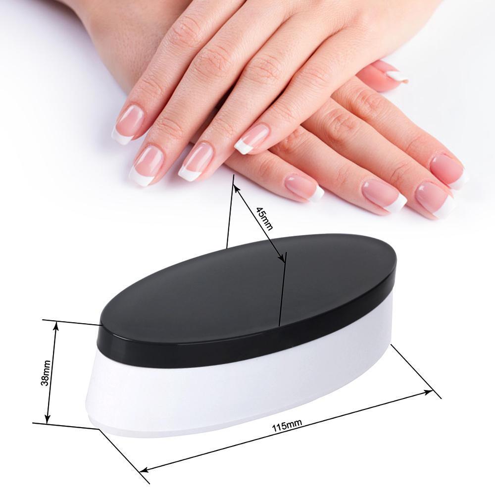 Neue französische Nagel Dip Container eintauchen Pulver Tray Finger ...