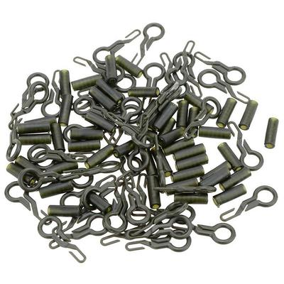 10Set Durable Fishing Back Lead Clips Carp Fishing Tackle Tools With Tubes@@