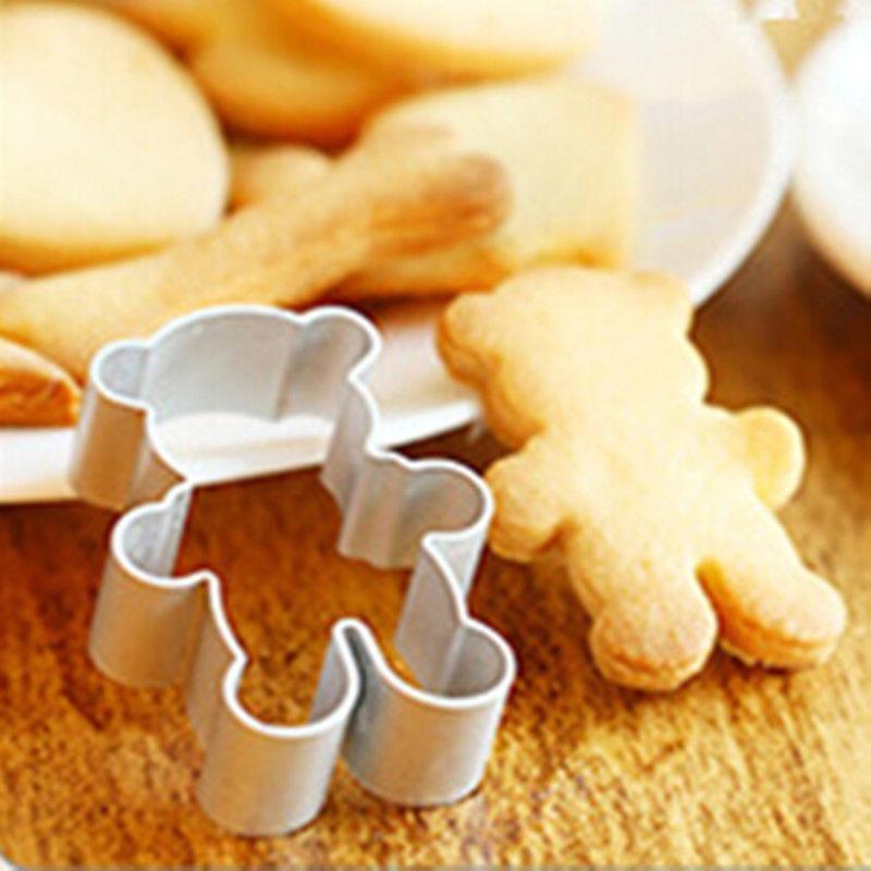 铝合金饼干模 曲奇饼干模具 卡通立体铝制铝合金饼干模具