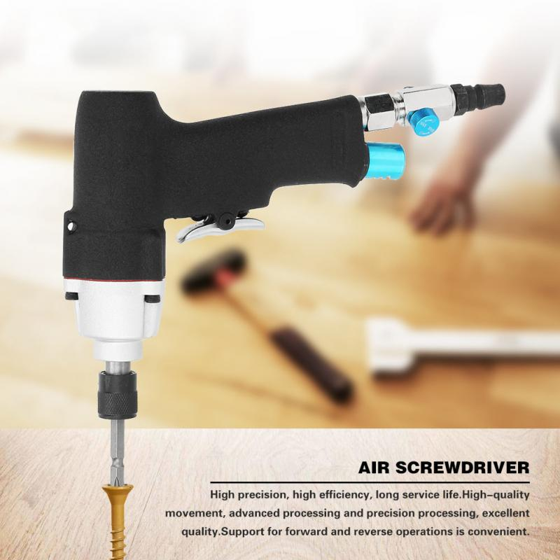 90/° Pneumatic Screwdriver Industrial Grade Hand Tool Hand Tools Industrial Portable Practica Pneumatic Products High Torque Right Angle Pneumatic Screwdriver
