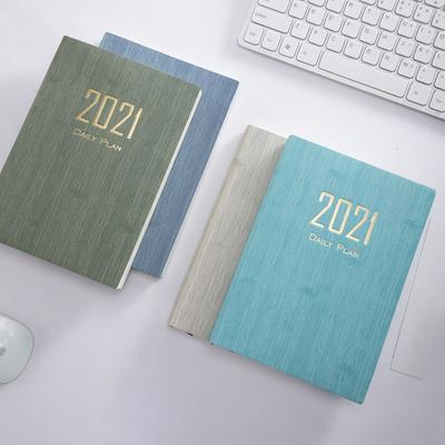 365 Days Travel Journal Daily Plan 2021 Schedule Notepad Notebook Diary Planner