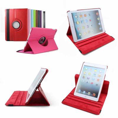 dfa029d67c 360°Rotating Leather Stand Case Cover Ipad Accessories PU For Mini iPad Air  2 Apple