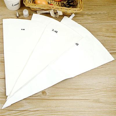 3Size Silicone Reusable Icing Piping Cream Pastry Bag DIY Cake Decorating Tool