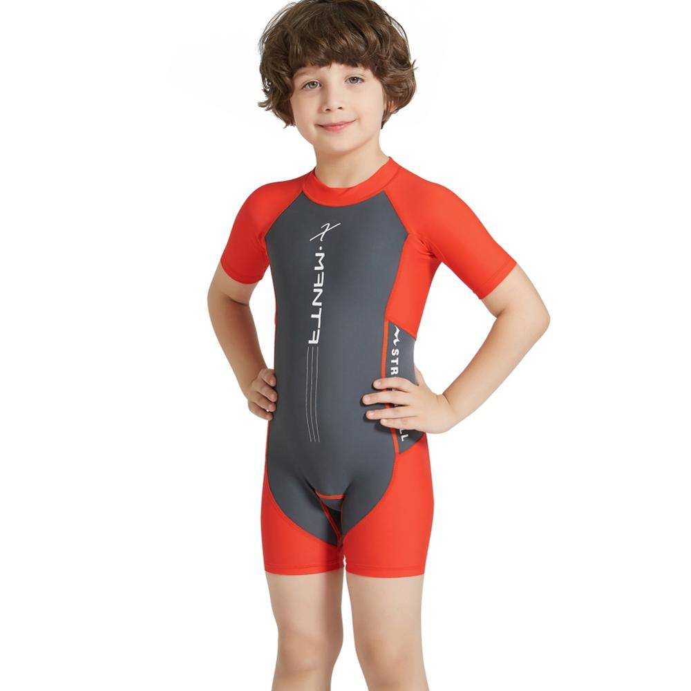 Rash Guard Bathing Suits Baby Toddler Boys Short Sleeve Swimsuits 2PCS Swimwear Sun Protection UPF50