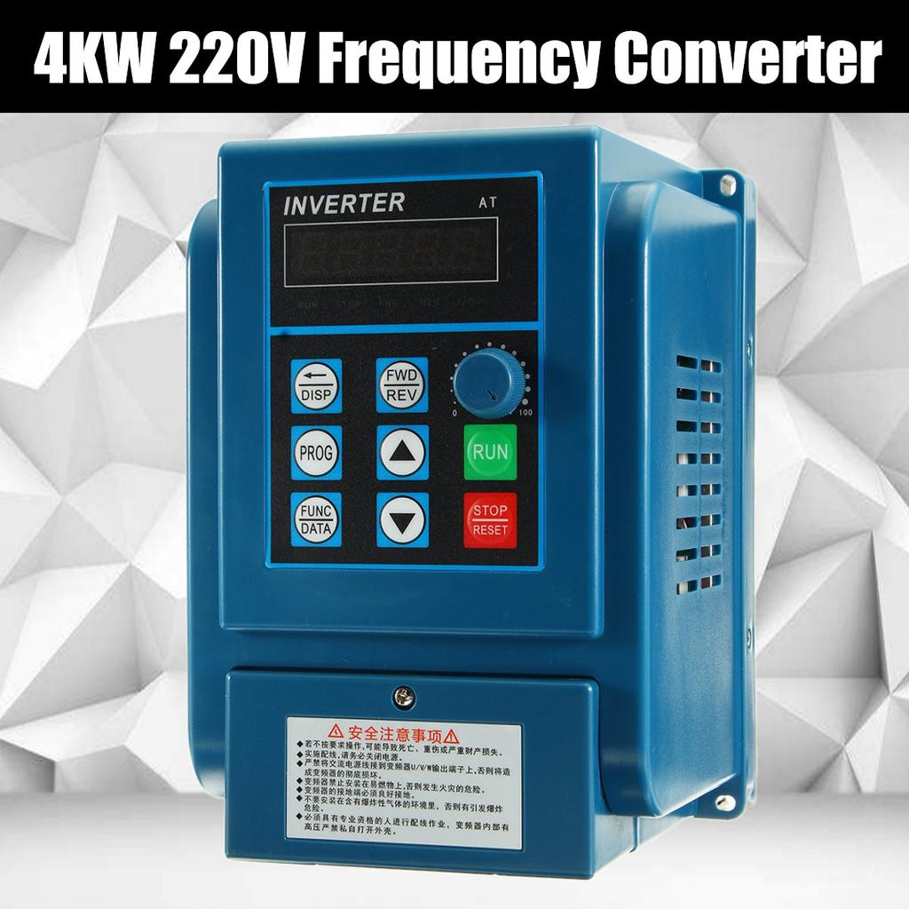 4KW 220V 5HP Frequenzumrichter VFD VARIABLE FREQUENCY DRIVE INVERTER