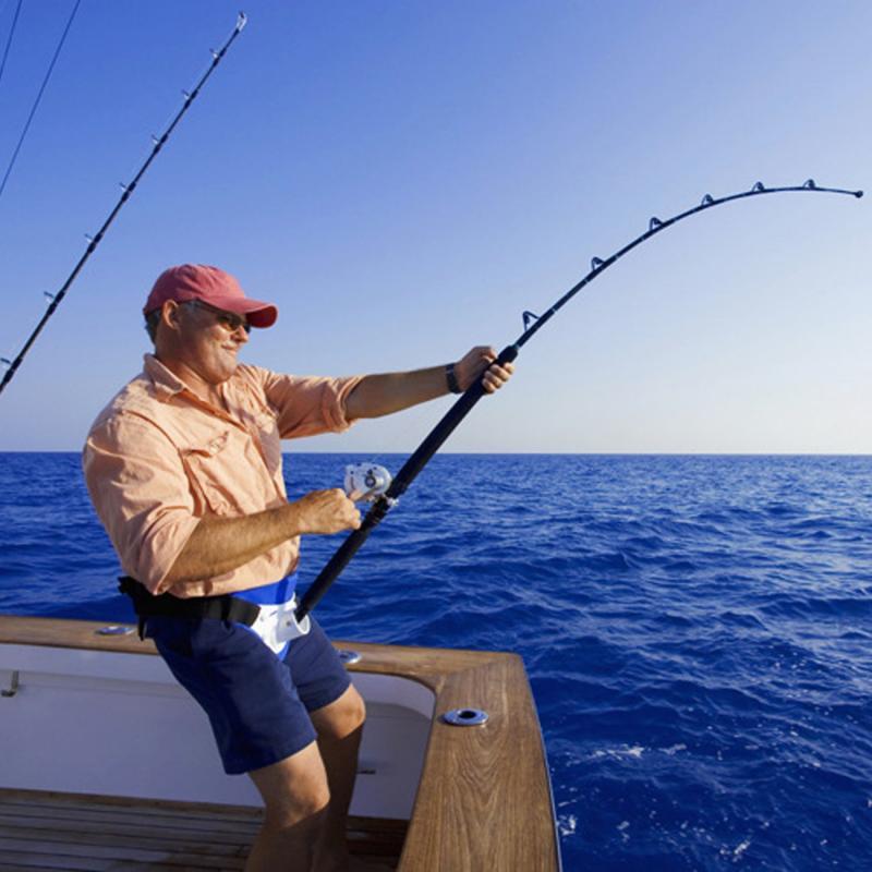 Fishing Rod Belt 3 Colors Stand Up Belt Rotarys Fishing Rod Holder Back Padded Fishing Fighting Rod Belt Rod Belt