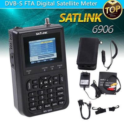 Satlink Ws-6906 Dvb-S Fta Data Digital Satellite Signal
