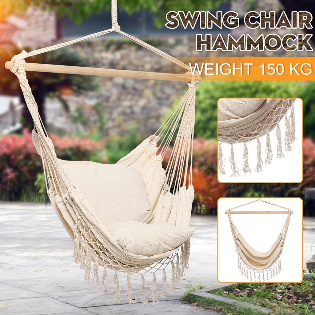 Baby Swing Seat Folding Swing Hanging Chair Large Load-Bearing Rocking Chair Swing Suitable for Babies 0-6 Years Old