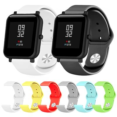 For Samsung Galaxy Watch Active Silicone 20mm Soft Band Strap Replacement