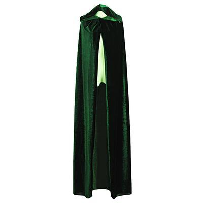 Party Cloak Hooded Cloak Witch Wizard Velvet Cape Halloween