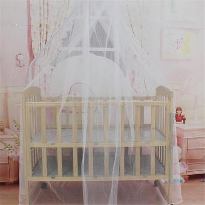 Baby Bed Mosquito Net Mesh Dome Curtain Net for Toddler Crib Cot Canopy 0U