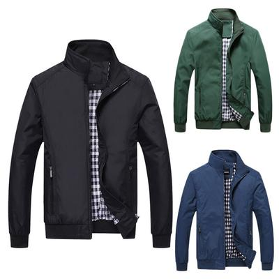 0671604ee90c Верхняя одежда куртка мужчины пальто случайный бомбардировщик куртка  Outwear ...