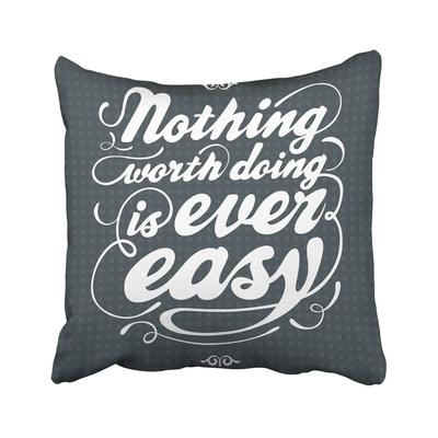 Once Upon Time Motivational And Inspirational Quote Hand Lettering Phrase Calligraphy Pillowcase Pillow Cover 18x18inch 45x45cm Buy At A Low Prices On Joom E Commerce Platform